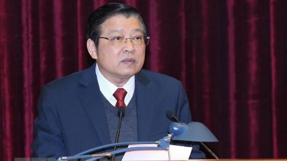 Trưởng Ban Nội chính Trung ương Phan Đình Trạc tiếp Phó Tổng thống Nam Sudan