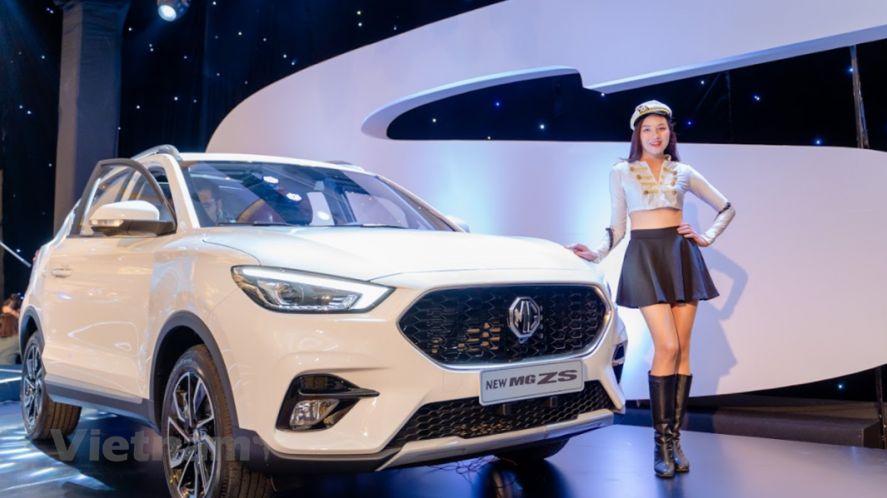 Xe MG ZS 2021 ra mắt thị trường Việt Nam, giá từ 569 triệu đồng