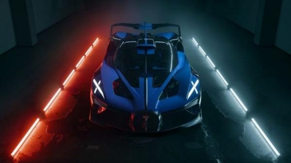Xe Bugatti Bolide được bình chọn là hypercar đẹp nhất năm 2021