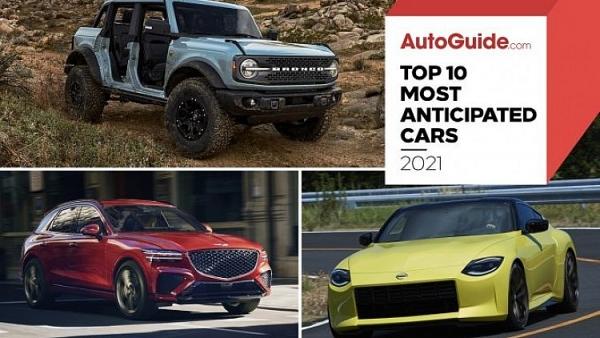 Top 10 mẫu xe được kỳ vọng ra mắt trong năm 2021