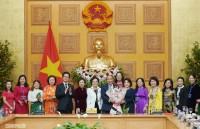 Thủ tướng Nguyễn Xuân Phúc gặp mặt các nữ doanh nhân tiêu biểu