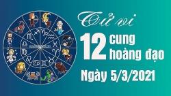 Tử vi 12 cung hoàng đạo thứ 6 ngày 5/3/2021: Cự Giải công việc thuận lợi, Sư Tử tình cảm vô cùng tốt