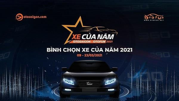 Chính thức mở cổng bình chọn giải Xe của năm 2021