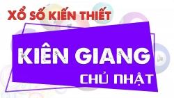 XSKG 9/5 - Kết quả xổ số Kiên Giang hôm nay 9/5/2021 - SXKG 9/5 - KQXSKG Chủ Nhật