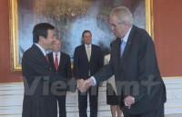 Tổng thống Czech đánh giá cao mối quan hệ truyền thống với Việt Nam