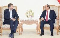 Thủ tướng Nguyễn Xuân Phúc tiếp Chủ tịch Phòng Kinh tế Áo