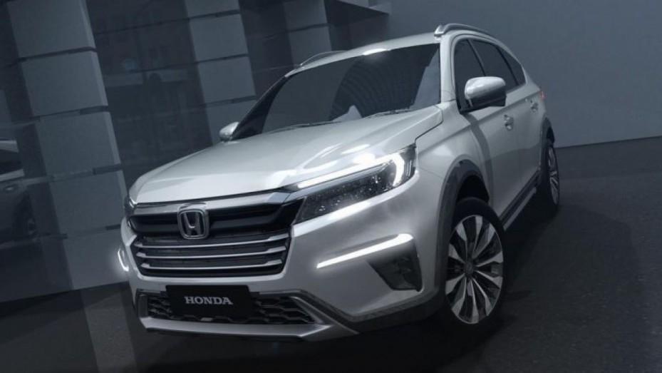 Lộ diện Honda BR-V thế hệ mới phiên bản 7 chỗ