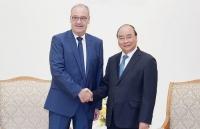 Thủ tướng Nguyễn Xuân Phúc tiếp Bộ trưởng Kinh tế, Giáo dục và Nghiên cứu Thụy Sỹ