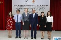 Khai giảng khóa nâng cao tiếng Anh phục vụ ASEAN 2020 do New Zealand tài trợ