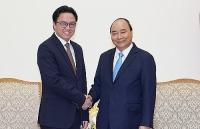 Thủ tướng Nguyễn Xuân Phúc tiếp Đại sứ Campuchia Prak Nguon Hong chào từ biệt