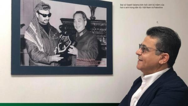 Đại sứ Palestine tại Việt Nam: Đại tướng Võ Nguyên Giáp là nguồn cảm hứng bất tận, là tấm gương sáng mãi