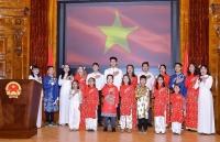 Trang trọng kỷ niệm 74 năm Quốc khánh Việt Nam tại Áo