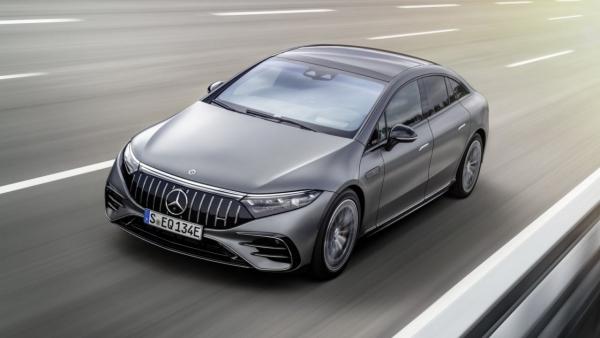 Mercedes-AMG EQS53 - xe ô tô điện hiệu suất cao của AMG