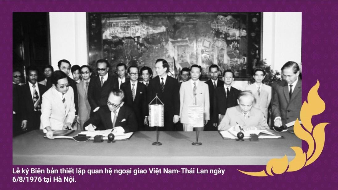 Quan hệ Việt Nam-Thái Lan qua ký ức của cựu Bộ trưởng Bhichai Rattakul
