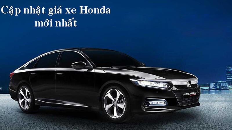 Cập nhật bảng giá xe ô tô Honda mới nhất tháng 9/2021