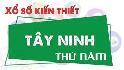XSTN 28/10, trực tiếp kết quả xổ số Tây Ninh hôm nay 28/10/2021. XSTN Thứ 5