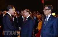 Thủ tướng kết thúc chuyến tham dự Hội chợ nhập khẩu quốc tế Trung Quốc