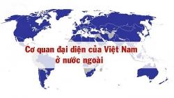 Danh sách các Cơ quan Đại diện của Việt Nam ở nước ngoài