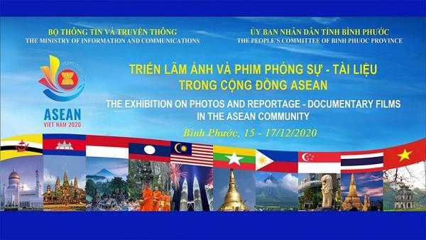 Triển lãm Ảnh và Phim Phóng sự - Tài liệu trong Cộng đồng ASEAN tại Bình Phước sẽ khai mạc sáng 15/12