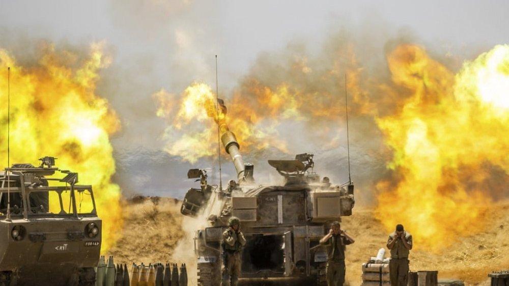 Hình ảnh về những cuộc giao tranh dữ dội giữa Israel-Palestine