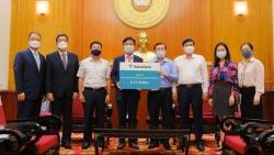 Ngân hàng Hàn Quốc Hana Bank ủng hộ 6 tỷ đồng vào Quỹ vaccine Covid-19