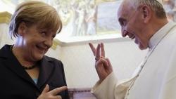 Những hình ảnh đậm chất 'bà đầm thép' Angela Merkel