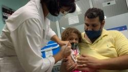 Vaccine Covid-19: Cuba xem xét thử nghiệm tiêm cho trẻ em dưới 2 tuổi