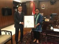 Việt Nam và Indonesia phối hợp tốt trong các vấn đề khu vực và quốc tế