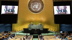 Liên hợp quốc bàn thảo khả năng tổ chức hội nghị quốc tế về hoà bình ở Palestine