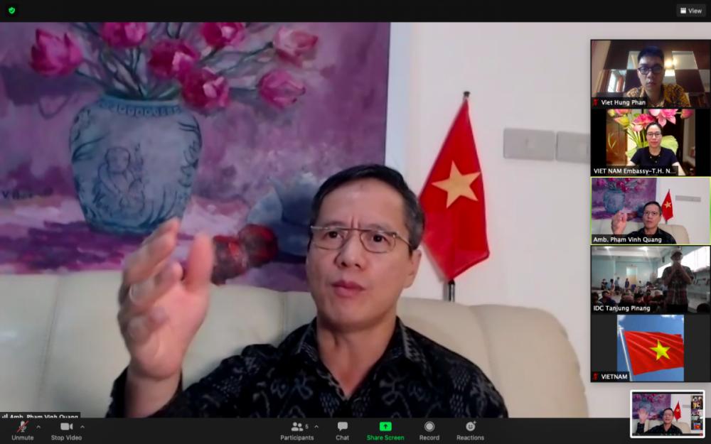 Đại sứ quán Việt Nam thăm lãnh sự, chúc Tết ngư dân bị tạm giữ ở Indonesia