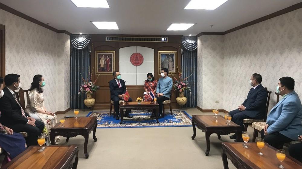 Đại sứ Phan Chí Thành: Nỗ lực đưa Udon Thani trở thành tỉnh dẫn đầu về hợp tác với Việt Nam
