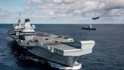 Nhóm tác chiến tàu sân bay HMS Queen Elizabeth của Anh sắp đến Biển Đông, ghé thăm nhiều nước châu Á