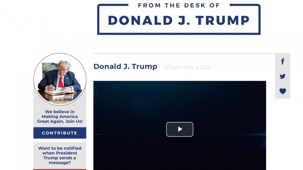 Chẳng cần Facebook hay Twitter, cựu Tổng thống Mỹ Donald Trump ra mắt nền tảng truyền thông riêng