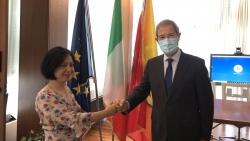 Đại sứ Việt Nam tại Italy Nguyễn Thị Bích Huệ công tác tại Sicilia thúc đẩy các lĩnh vực ưu tiên hợp tác