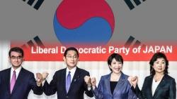 Bầu cử Chủ tịch đảng LDP: Nhật Bản sắp có Thủ tướng mới, quan hệ Tokyo-Seoul sẽ đi về đâu?