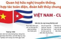[Infographic]: Những mốc son trong quan hệ hữu nghị truyền thống Việt Nam - Cuba