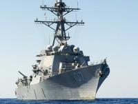 """Tàu khu trục tên lửa """"hạng nặng"""" của Mỹ tiến vào biển Baltic"""