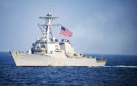 Mỹ lại điều tàu chiến đi qua Eo biển Đài Loan bất chấp phản đối của Trung Quốc
