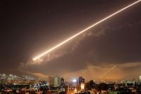 Nhiều tên lửa Isarel tấn công vào Syria từ Cao nguyên Golan