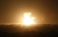 Israel không kích ở Syria và Dải Gaza