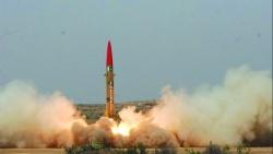 Pakistan tuyên bố phóng thử thành công tên lửa đạn đạo đất đối đất