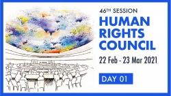 Hội đồng Nhân quyền Liên hợp quốc khai mạc phiên họp đầu tiên trong năm 2021