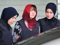 Nghi can Đoàn Thị Hương trong vụ sát hại công dân Triều Tiên được đưa đi kiểm tra tâm lý