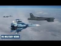 """Su-27 Nga """"hộ tống"""" máy bay ném bom Mỹ trên biển Baltic"""