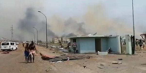 4 vụ nổ rung chuyển thủ đô kinh tế Guinea Xích đạo, hơn 500 người thương vong