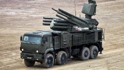 Tấn công quy mô lớn ở Syria, Pantsir-S1 của Nga 'xuất chiến', đả bại hàng chục UAV Thổ Nhĩ Kỳ