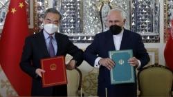 Trung Quốc-Iran chính thức hợp tác toàn diện, Israel vội lên tiếng