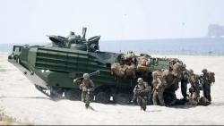 Giữa lúc căng thẳng leo thang ở Biển Đông, Philippines-Mỹ bắt đầu tập trận chung