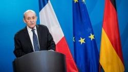 Chẳng chịu 'kém miếng' Nga và Mỹ, Ngoại trưởng Pháp sang Ấn Độ