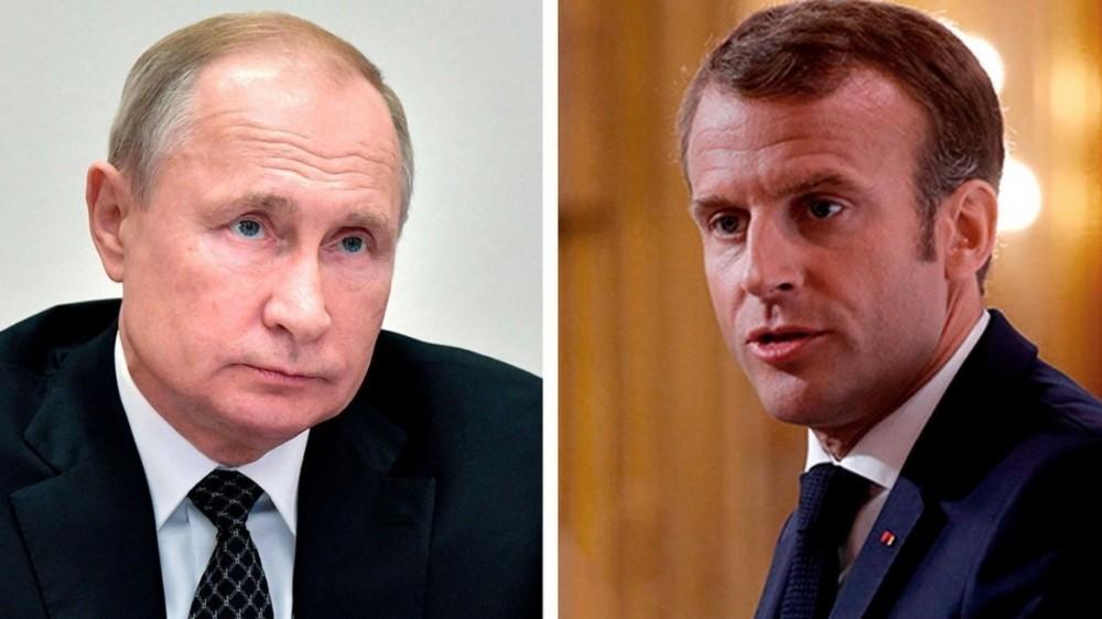 Điện đàm với Tổng thống Nga, nhà lãnh đạo Pháp thẳng thừng quan điểm về loạt vấn đề Ukraine, Navalny, Czech